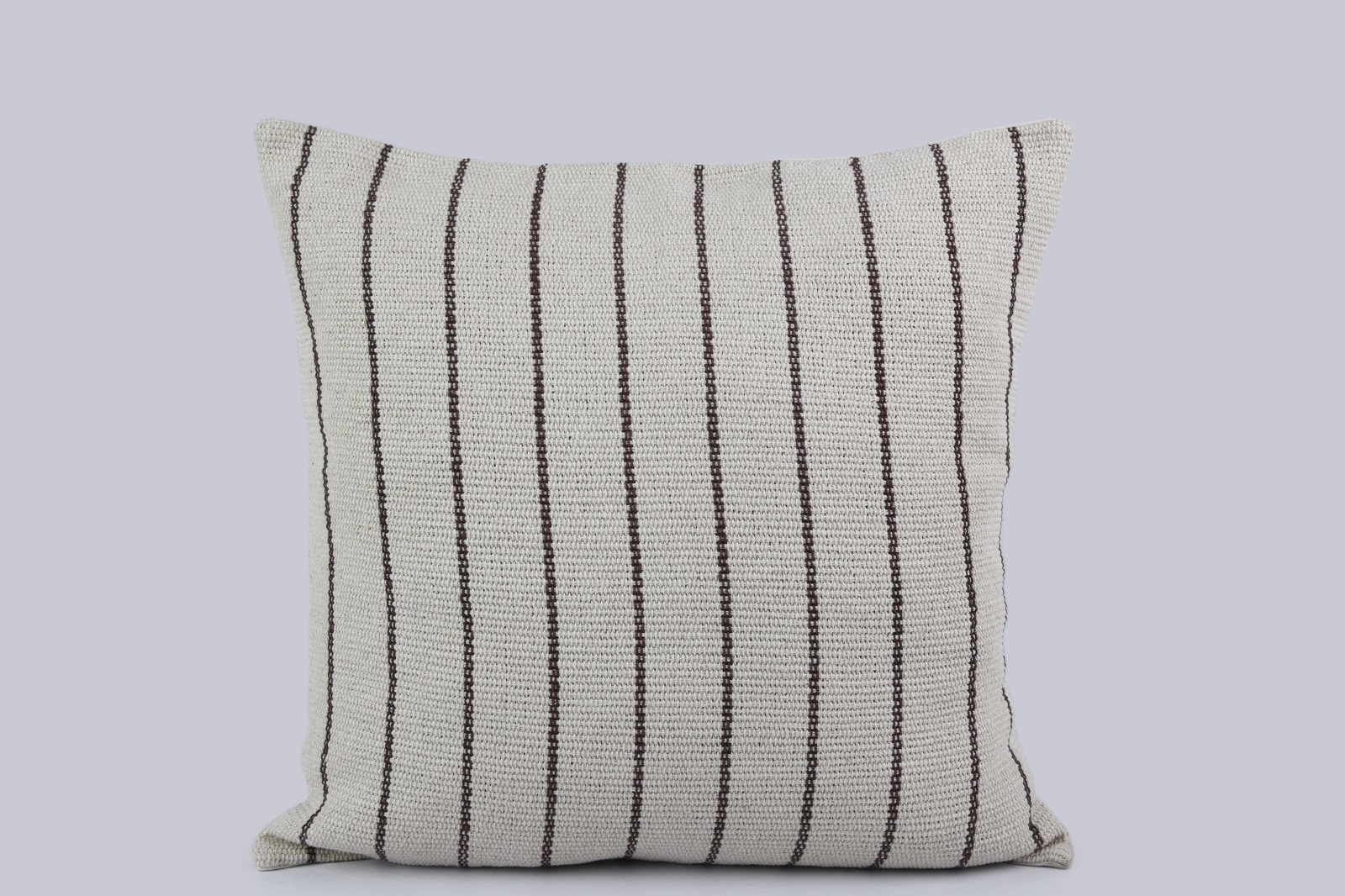 Heavy Cotton Striped Cushion