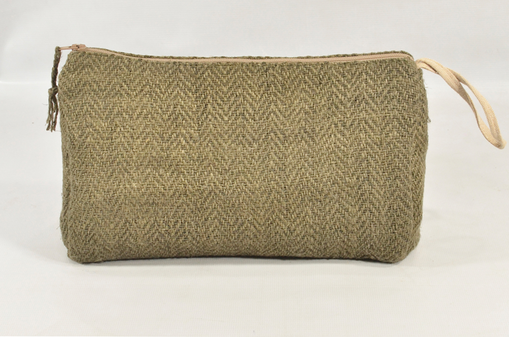 Hemp Pouch Green