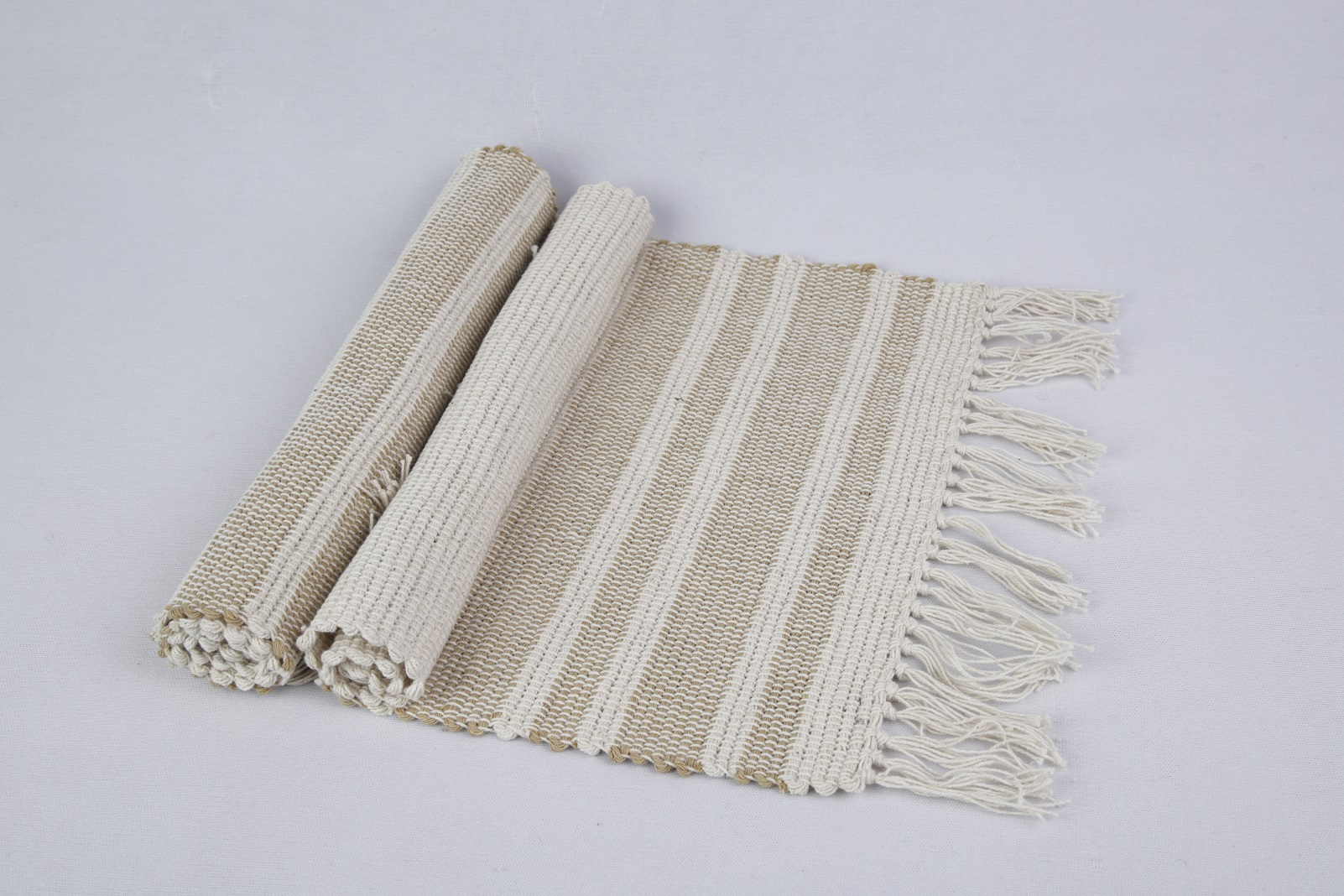 Double yarn striped  Placemat