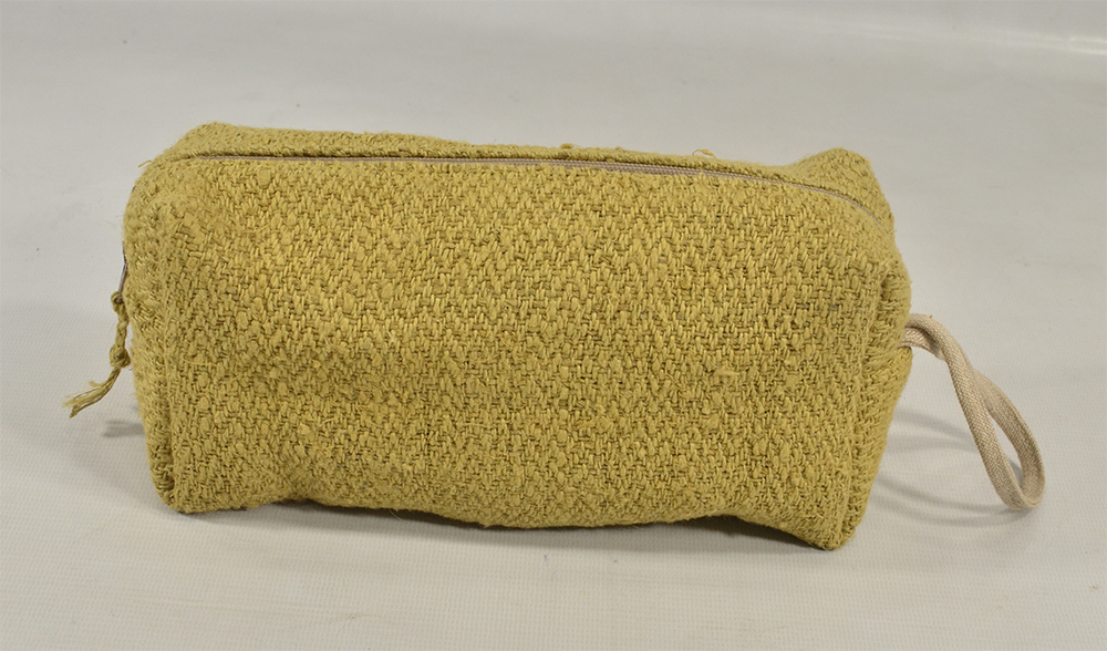 Hemp Pouch (Yellow)