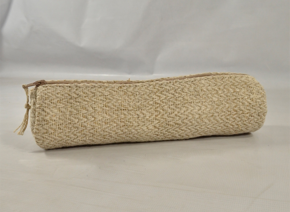 Hemp Pencil Case (Natural )