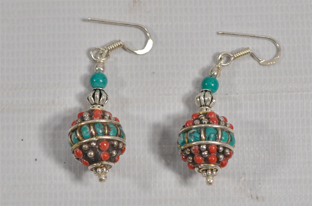 Mix Stone Earring